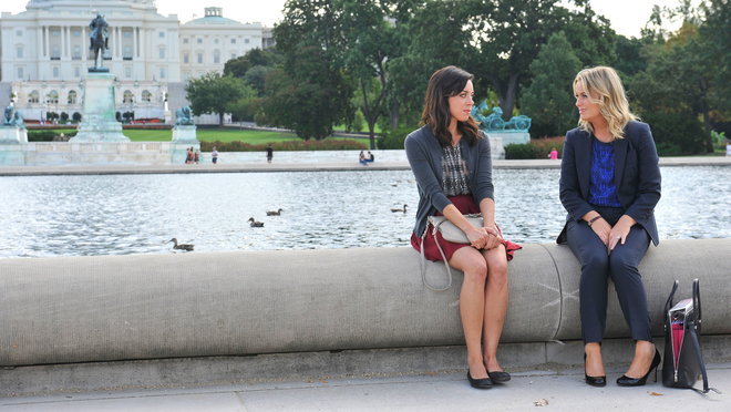 Parks and Recreation: Ms. Ludgate-Dwyer Goes to Washington