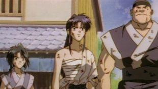Rurouni Kenshin : The Giant Versus Superman: Like an Arrow Shot at a Time of Despair
