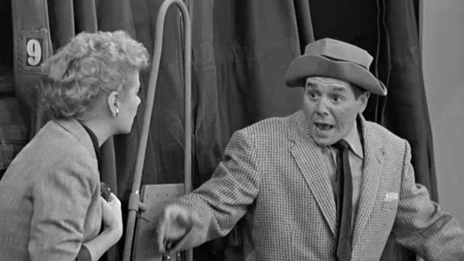 I Love Lucy: The Great Train Robbery