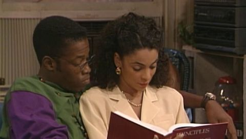A Different World : Time Keeps on Slippin'