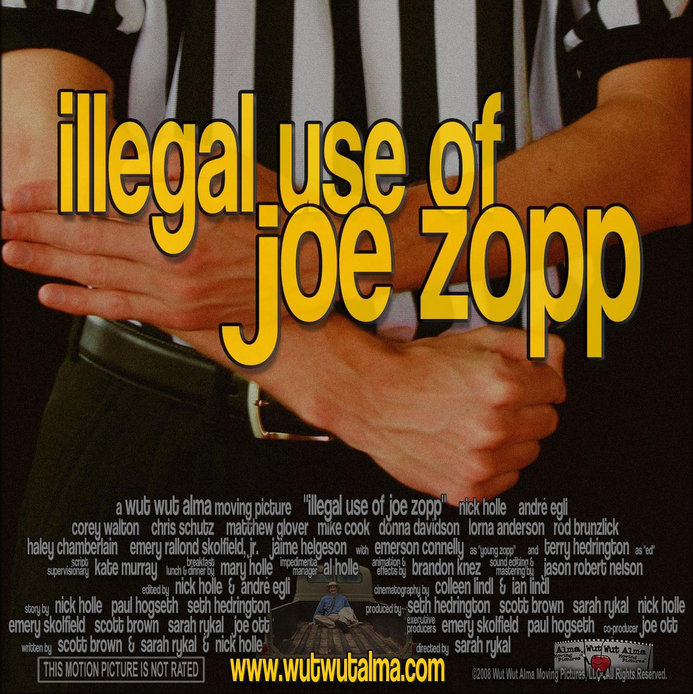 Illegal Use of Joe Zopp