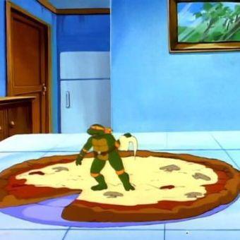 Teenage Mutant Ninja Turtles : Funny, They Shrunk Michaelangelo