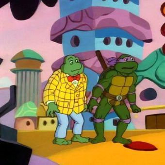 Teenage Mutant Ninja Turtles : Planet of the Turtles