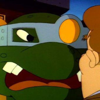 Teenage Mutant Ninja Turtles : Slash - The Evil Turtle from Dimension X