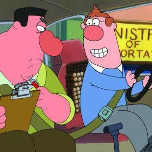 Bob and Margaret : Driving Bob