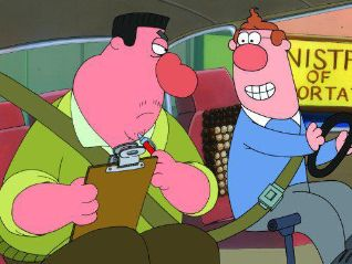 Bob and Margaret: Driving Bob