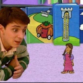 Blue's Clues : What Story Does Blue Want to Play?