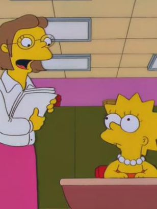 The Simpsons: Lisa Gets an A