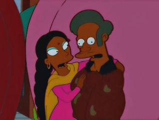 The Simpsons: I'm With Cupid