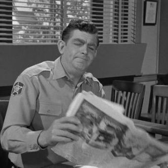 The Andy Griffith Show Opies Newspaper 1965 Coby Ruskin