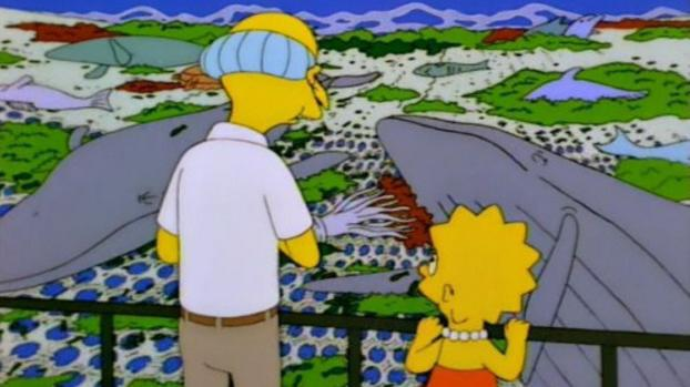 The Simpsons: The Old Man and the Lisa
