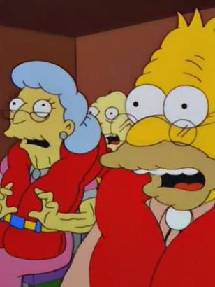 The Simpsons: The Old Man and the C Student