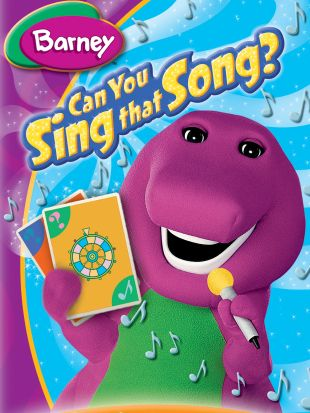 Barney: Can You Sing That Song