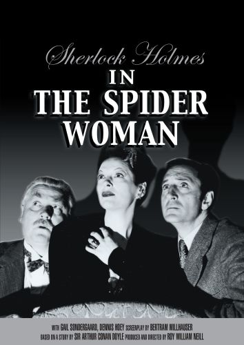 Sherlock Holmes in the Spider Woman