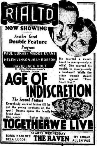 Age of Indiscretion