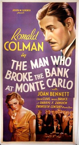 Man Who Broke the Bank at Monte Carlo