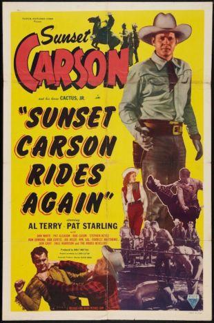 Sunset Carson Rides Again