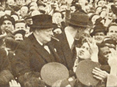 Churchill's Bodyguard : Love Him to Death