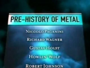 Metal Evolution: Pre-Metal