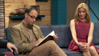 Comedy Bang! Bang!: Elizabeth Banks Wears A Red Dress