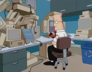 Dilbert: The Virtual Employee
