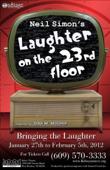 Neil Simon's 'Laughter on the 23rd Floor'