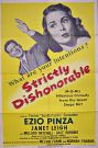 Strictly Dishonorable