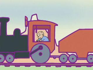 Harold and the Purple Crayon: Future Clock