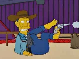 The Simpsons: The Lastest Gun in the West