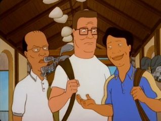 King of the Hill: A Man Without a Country Club
