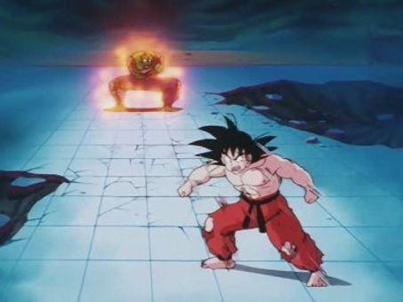 Dragon Ball : Goku Hangs On