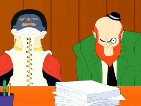 Harvey Birdman, Attorney at Law : Harvey's Civvy