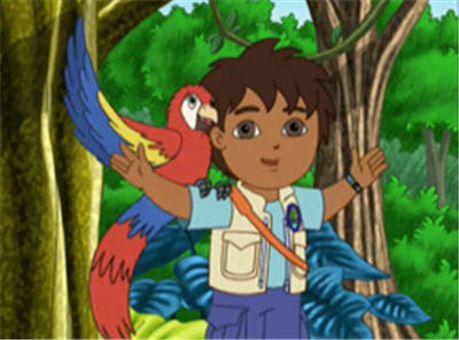 Go, Diego, Go! : The Mommy Macaw