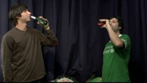 Kenny vs. Spenny : Who Can Drink More Beer?