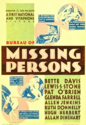 Bureau of missing persons 1933 roy del ruth related for Bureau 13 movie