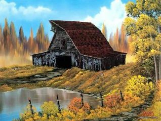 Bob Ross: Rustic Barn