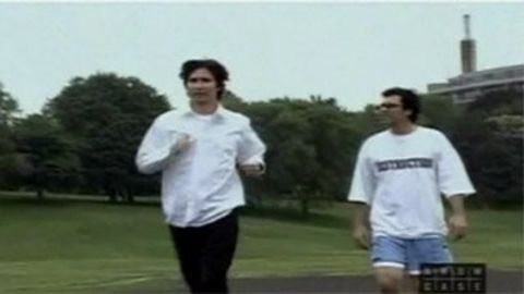 Kenny vs. Spenny : Who Can Win a Ten Mile Race?