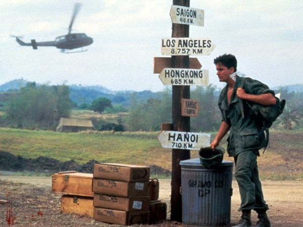 an overview of the 1986 oliver stone directed film platoon Platoon a film that portrays the vietnam war essay platoon is perhaps the most influential example of the vietnam war oliver stone, director of the film, who served two tours of duty in vietnam, portrays the war as more of an internal conflict between american soldiers rather than a conflict with the vietcong militants.