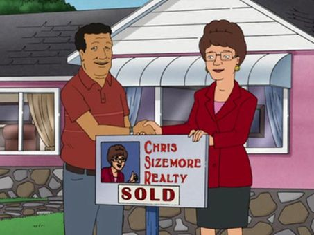 King of the Hill : Lady and Gentrification