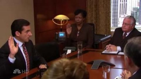 The Office : The Deposition