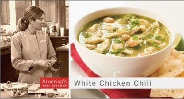America's Test Kitchen: White Chicken Chili Supper (2007