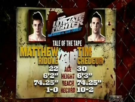 The Ultimate Fighter: Team Rampage vs. Team Forrest : Everything to Lose