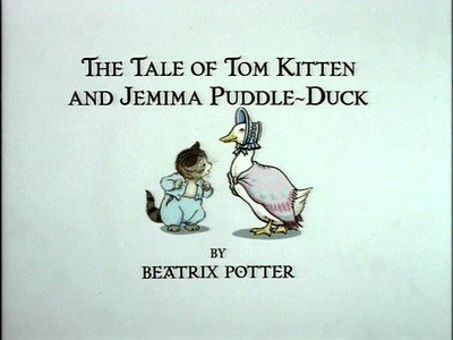 The World of Peter Rabbit and Friends : The Tale of Tom Kitten and Jemima Puddle-Duck