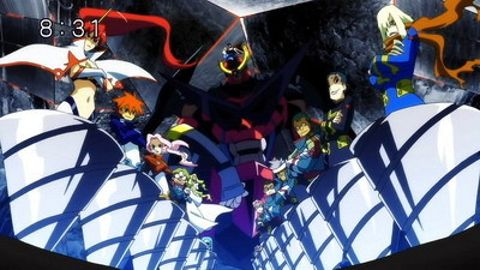 Gurren Lagann : All the Lights in the Sky are Stars