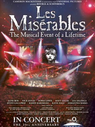 Les Misérables: 25th Anniversary Concert at the O2