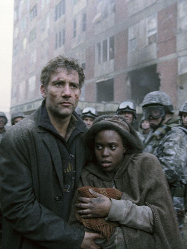 a review of children of men a film by alfonso cuaron Children of men, directed and co-written by alfonso cuarón  much like the film around it children of men,  movie review movie review.