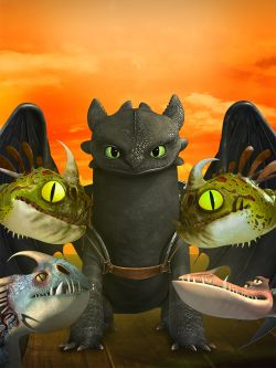 Dragons: Race to the Edge [TV Series]