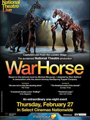 National Theatre Live: War Horse