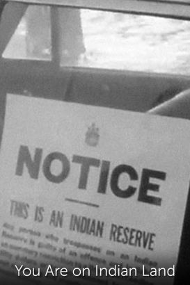 You Are On Indian Land