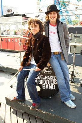 Naked brothers band as superheroes 9